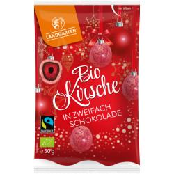 Landgarten - Bio Kirsche in zweifach Schokolade - 50g