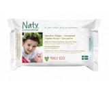 Naty - Toallitas húmedas, Sensible, libre de fragancia - 56 Piezas