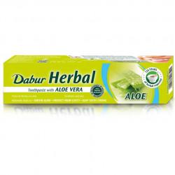 Dabur a base de Hierbas Pasta de dientes con Aloe Vera - 100g