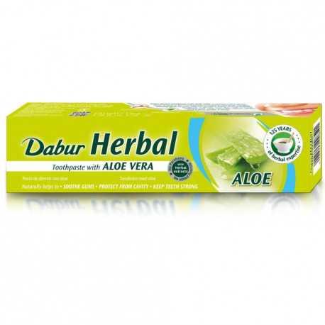 Dabur - Herbal Zahnpasta mit Aloe Vera - 100g