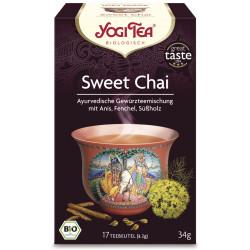 Yogi Tea - Sweet Chai Bio, Aufgussbeutel - 17St