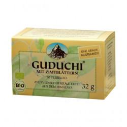 Guduchi - BIO Zimtblätter Ayurvedischer Kräutertee - 20 Teebeutel