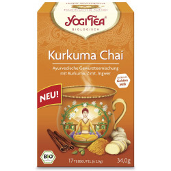 Yogi Tea - turmeric Chai, organic, tea bag - 17St