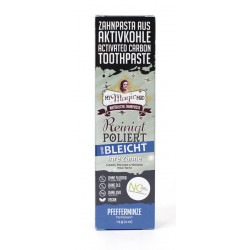 Village Cosmetics - My Magic Mud activated charcoal toothpaste 113g