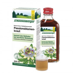 Schoenenberger - passion flower herb, pure Natural healing plant juice organic 200ml