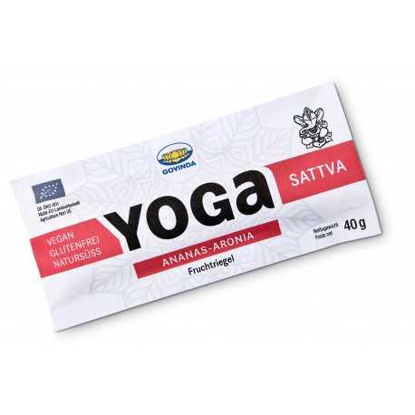 "Govinda - Bio Yoga Riegel ""Sattva"" Ananas-Aronia - 40g"