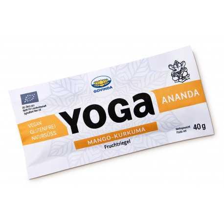 """Govinda - Bio Yoga Riegel """"Ananda"""" Mango-Kurkuma - 40g"""