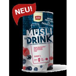 Rosengarten - Müsli to Drink - Heidelbeere Himbeere - 500g