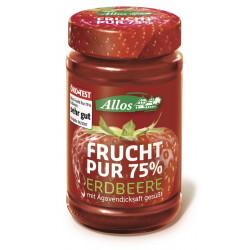 Allos - Frucht Pur 75% Erdbeere - 250g