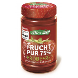 Allos - Frutto Puro 75% Fragola - 250g