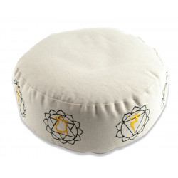 Berk Balance - meditation cushion with 7 chakra motifs - nature