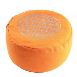 Berk Balance Meditationskissen, il Fiore della Vita - Arancione