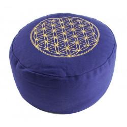 Berk Balance coussin de méditation, la Fleur de la Vie - Violet