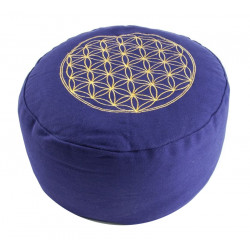 Berk Balance - meditation cushion, flower of life - purple
