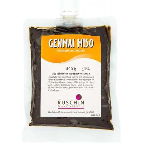 Ruschin - Genmai Miso, mit Vollreis - 345g