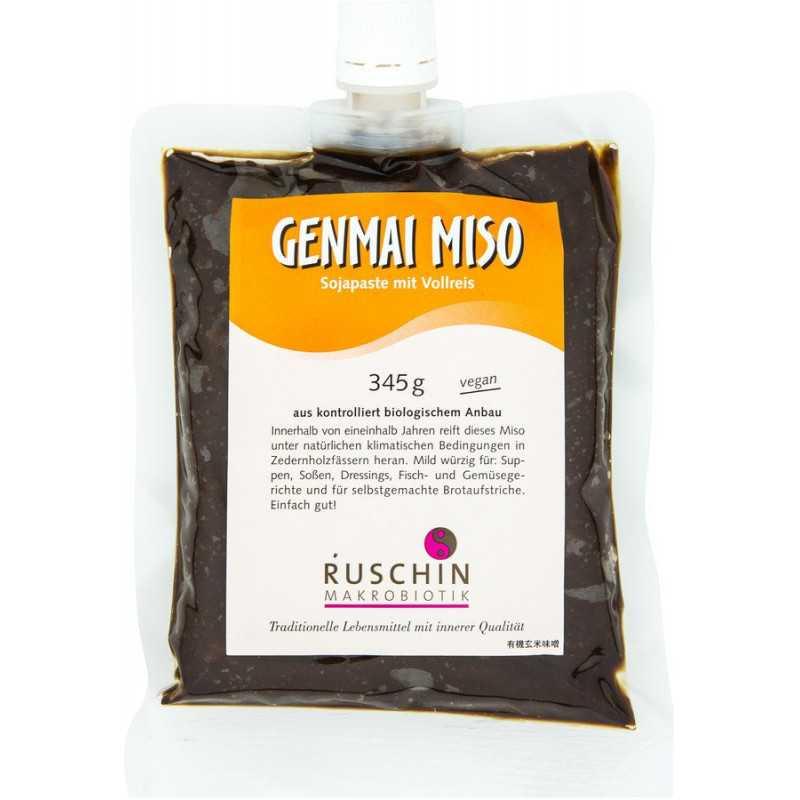 Ruschin - Genmai Miso, with rice - 345g