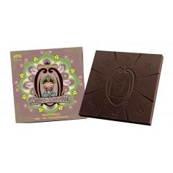 Mindsweets - Frühlingszauber Chocolat Chaman, 60% de Cacao 50g