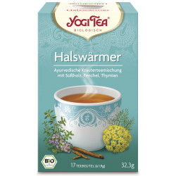 Yogi Tea - throat warmer, tea organic, tea bag - 17St