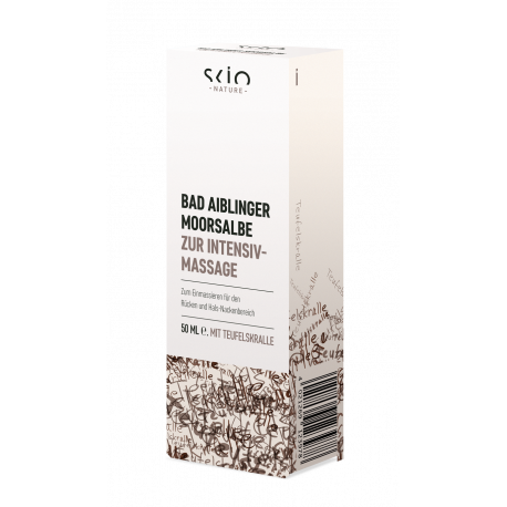 Scio Nature - Bad Aiblinger MOORSALBE zur Intensiv Massage - 50ml