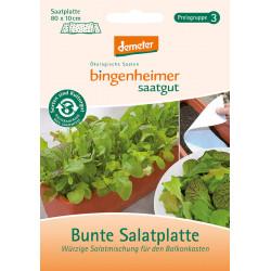 Bingenheimer Semences Coloré Salatplatte, Samenplatte