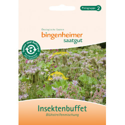Bingenheimer - Sementi Insektenbuffet Blühstreifenmischung