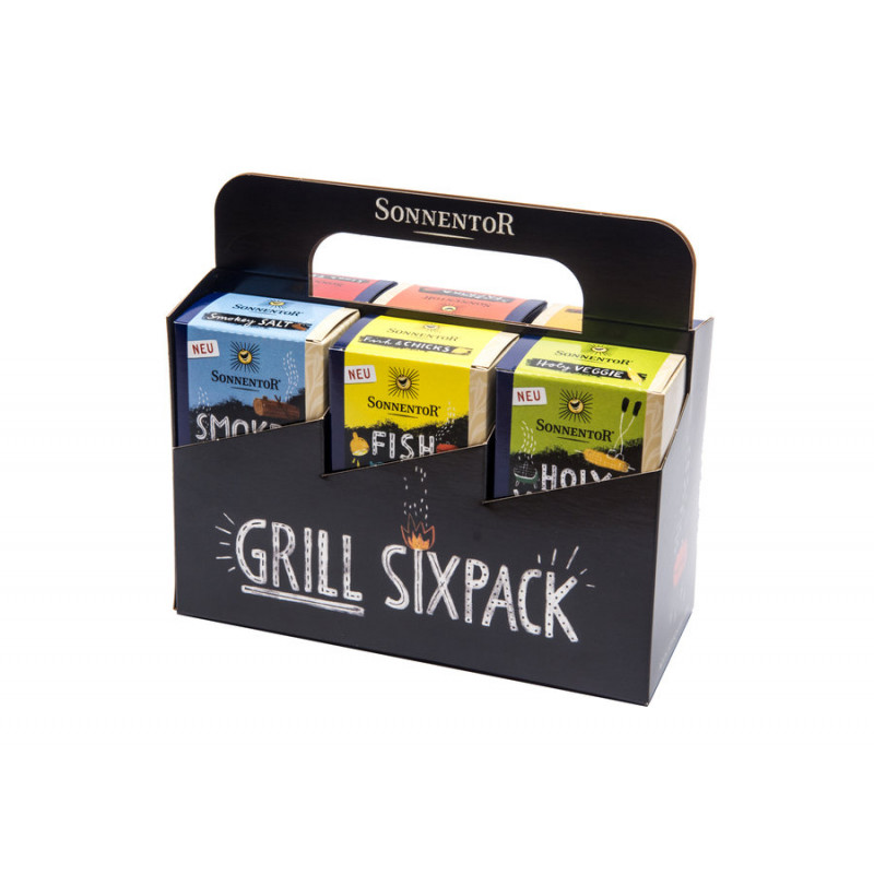 Sonnentor grill spices Sixpack organic 415g