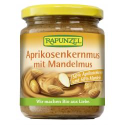 Rapunzel - Aprikosenkernmus mit Mandelmus - 250g