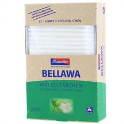 Bellawa Natural - Bio Wattestäbchen - 200 Stück