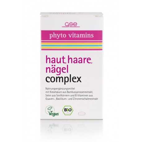 GSE - Bio Haut, Haare, Nägel Complex - 60 Tabletten