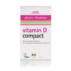 GSE - Bio Vitamin D Compact - 120 tablets