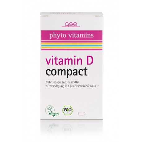 GSE - Bio Vitamin D Compact - 120 Tabletten