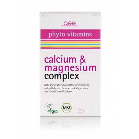 GSE - Bio Calcium & Magnesium Complex - 60 Tabletten