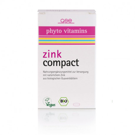 GSE - Bio Zink Compact - 60 Tabletten