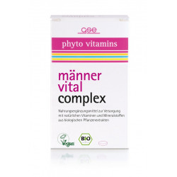 GSE organic men's Vitality Complex - 60 tablets