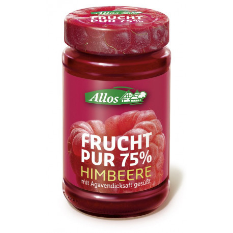Allos - Frucht Pur 75% Himbeere - 250g