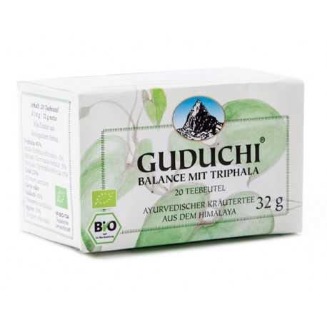 Guduchi - BIO Balance Tee mit Triphala - 20 Teebeutel