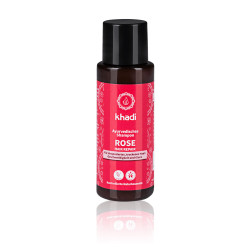 Khadi - Ayurvedisches Shampoo Rose Repair - 30ml