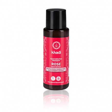 Khadi - Ayurvedisches Shampoo Rose Repair - 30ml