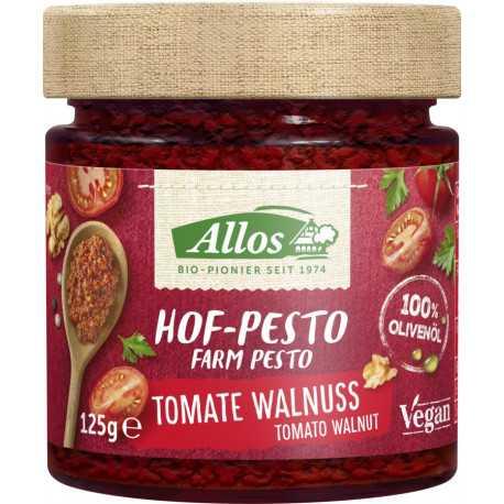 Allos - Hof-Pesto Tomate Walnuss - 125g