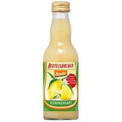 Beutelsbacher - Bio, jus de Citron, le pur jus - 0,2 l
