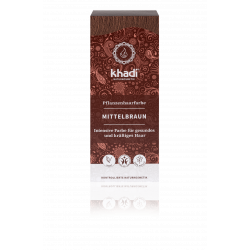 Khadi - herbal hair colour medium brown 100g