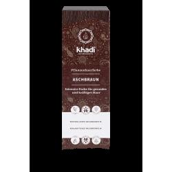 Khadi - Coloration Cheveux Végétaux Brun Cendré - 100g