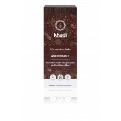 Khadi - herbal hair colour Aschbraun - 100g