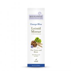 Bio Planete - Omega Blue olio di semi di Lino-Ricetta - 0,1 l