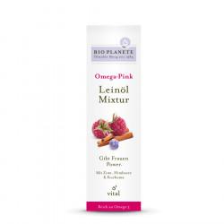 Bio Planete - Omega Pink Leinöl-Mixtur - 0,1l