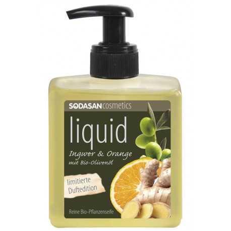 Sodasan - Bio-Pflanzenseife Orange-Ingwer - 300ml