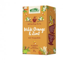Allos - Wilde Orange & Zimt 30g