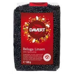 Davert - Lentilles Beluga, noir 500g