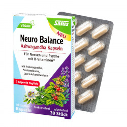 Salus - Neuro-Balance Ashwagandha Capsules - 30 Capsules