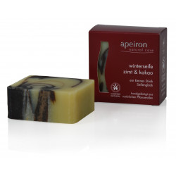 Apeiron - winter soap-cinnamon & cocoa - 100g